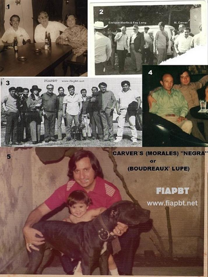 maurice carver visita a sus amigos de mexico en los años 60